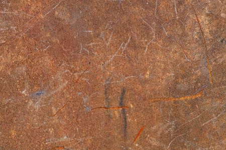 Metal texture - Rusty wall background