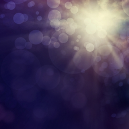 purple stars: Purple Festive Christmas abstract background with bokeh lights.