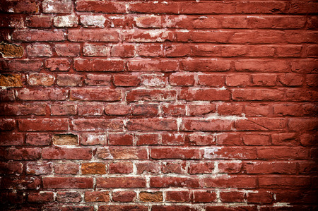 smut: Stone texture - Rustic and worn bricks painted with a red color.