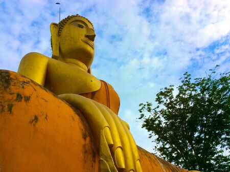 respectable: Big Buddha seen a lot in Thailand, Because the people of Thailand are very respectable in Buddhism greatly.