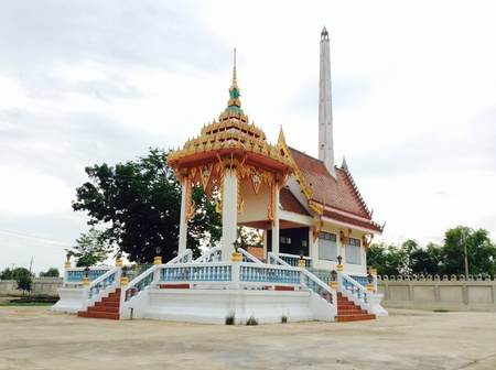 crematorium: Crematorium is the last place of the life for a Buddhist Thailand. This place is used for the cremation.