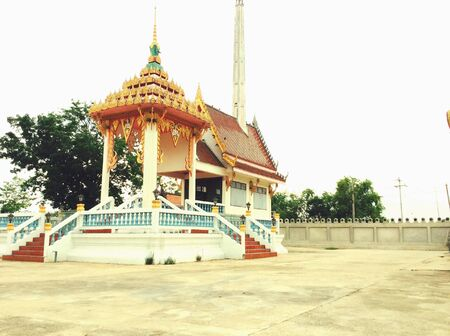 a place of life: Crematorium is the last place of the life for a Buddhist Thailand. This place is used for the cremation.