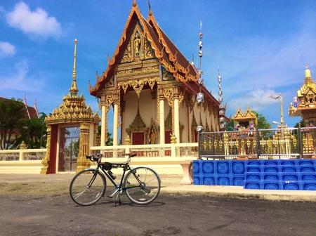 art: Temple in Thailand.