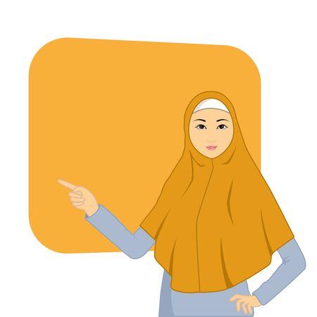 Hijab Frau