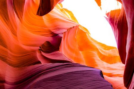 page arizona: Antelope Canyon in the Navajo Reservation near Page, Arizona USA