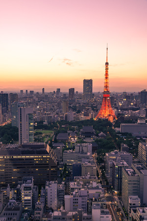 Tokyo Tower Twilight