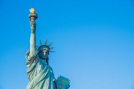 Statue of Liberty Outside Aqua City Odaiba, Tokyo, Japan