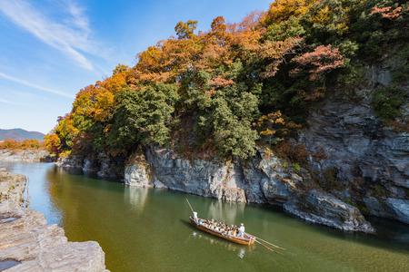 Autumn foliage in Nagatoro, Saitama, Japan