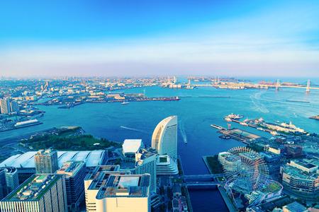 The View Yokohama City Stock Photo