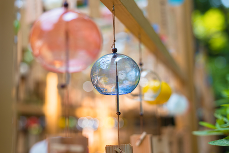 Japanese wind chimes  Summer feature of Japan Standard-Bild