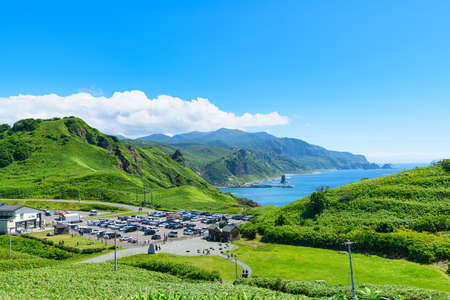 Cape Kamui in Summer Shakotan Blue / Shakotan Town, Hokkaido