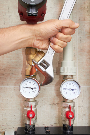 refinement: pipes with heat and pressure sensors, repair of water supply system