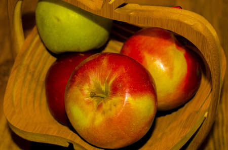 Apples - autumn harvest Stock Photo