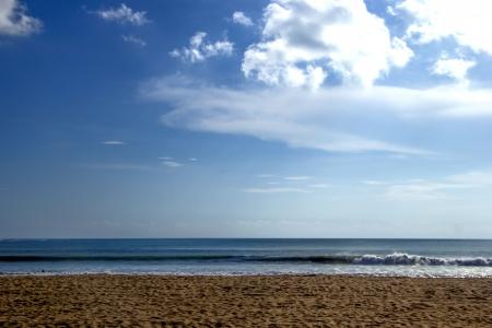 Sea and beach simple landscape Stock Photo - 16947365