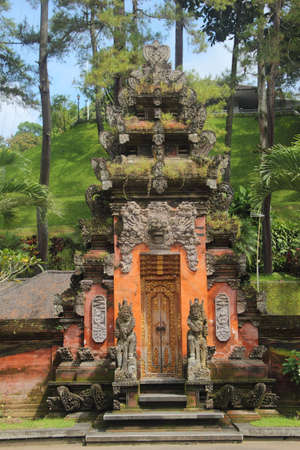 Balinise traditional temples