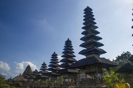 Balinise traditional temples  Made in Bali, Indonesia