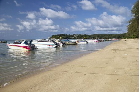 Rawai beach on Phuket island with boats  Thailand  Stock Photo - 17069640
