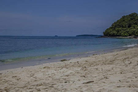 Nice beach Nai Harn on Phuket island  Made in Thailand Stock Photo - 17080662
