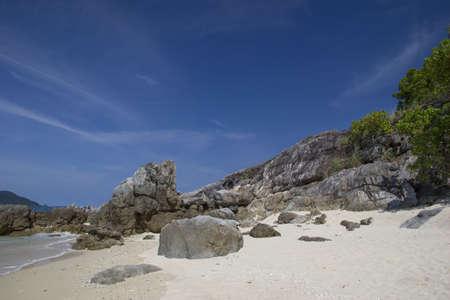 Beautiful beach and rocky coast  Similan islands, Thailand Stock Photo - 17117056