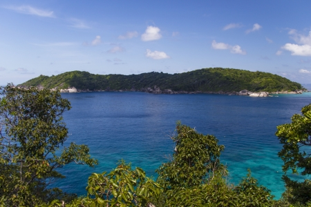 thailand s landmarks: Beautiful sea coast landscape on Similan islands, Thailand  Stock Photo