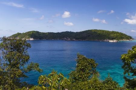 Beautiful sea coast landscape on Similan islands, Thailand Stock Photo - 17239830