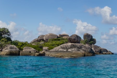 Beautiful sea coast landscape on Similan islands, Thailand. Stock Photo - 17853554