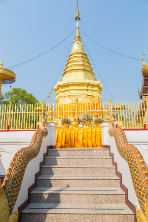 Thai temple - Wat Doi Suther in Northern Thailand, Chiang Mai