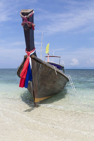 longtail thai boat Stock Photo