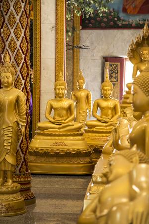 budda: Budda statues inside one of thai temples