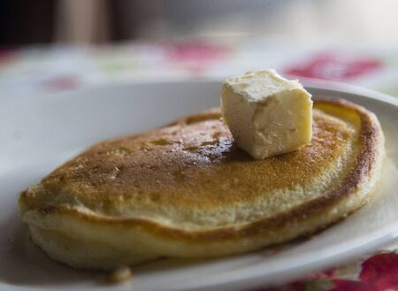 American pancake Stock Photo