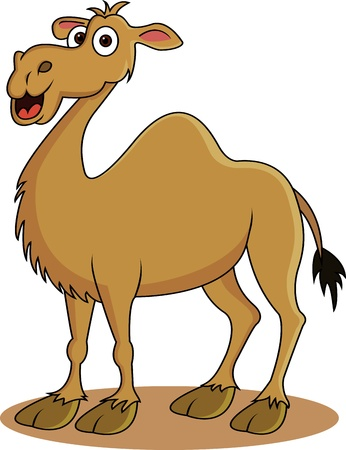 funny camel cartoon Stock Vector - 12542562