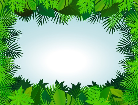 fern leaf: green leaf background