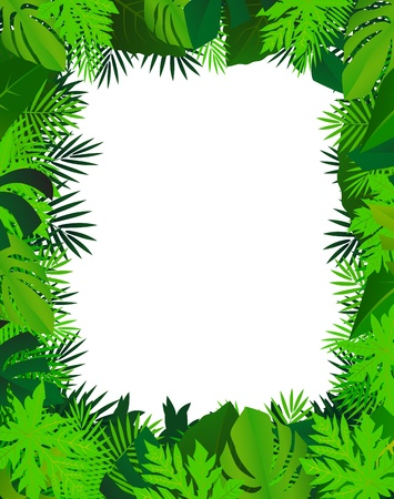 green leaf background Stock Vector - 12542829