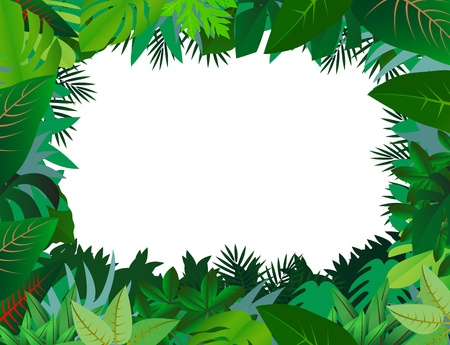 green leaf background Stock Vector - 12542757