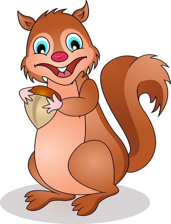 chipmunk: funny squirrel cartoon