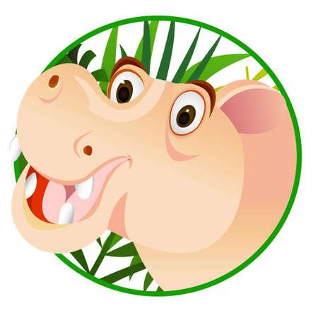 hippo cartoon: funny hippo cartoon