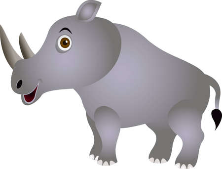 sniff: funny rhino cartoon