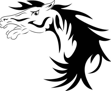 horse head Stock Vector - 12832952