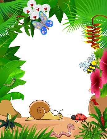 babosa: dibujos de animales pequeños Vectores
