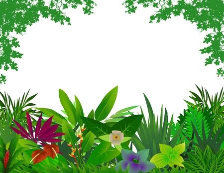 ivies: bosco bellissimo sfondo Vettoriali