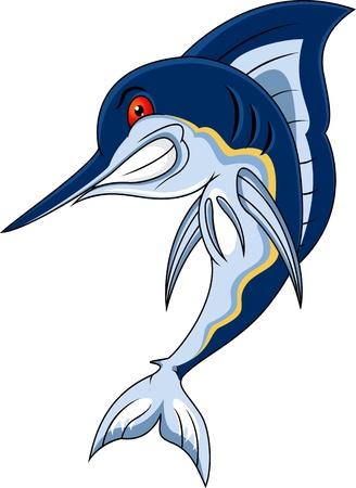 swordfish: marlin fish Illustration
