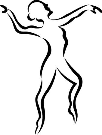 ling: ballerina silhouette