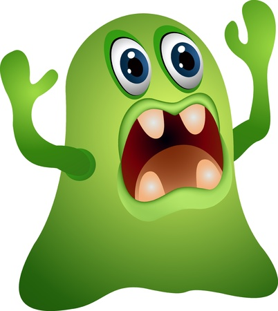 funny monster cartoon Stock Vector - 14288176