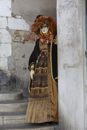ruching: Venice Carnival Costume