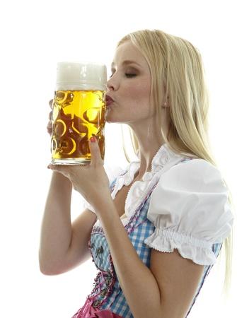 skirting: Woman with Beer Mug