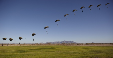 Skydiver Compilation Line to Touchdown photo