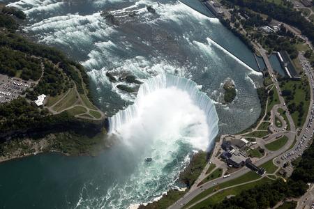 Aerial Niagara Falls