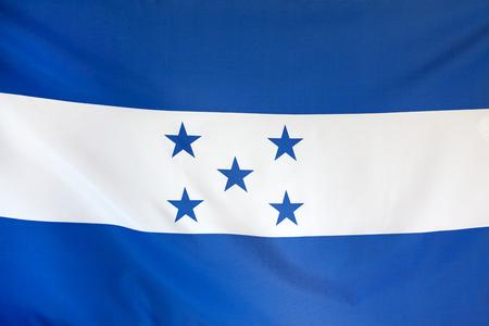 bandera honduras: Bandera de Honduras verdadero tejido sin costuras cierre para arriba