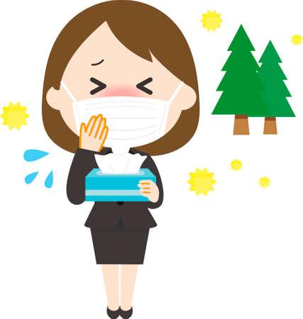 Women's Suits Pollen Masks