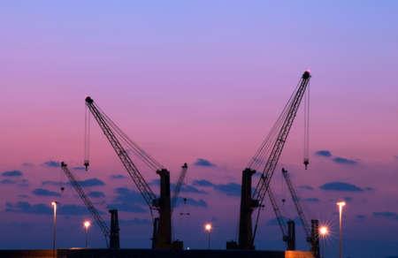 equipment at the port of carrara
